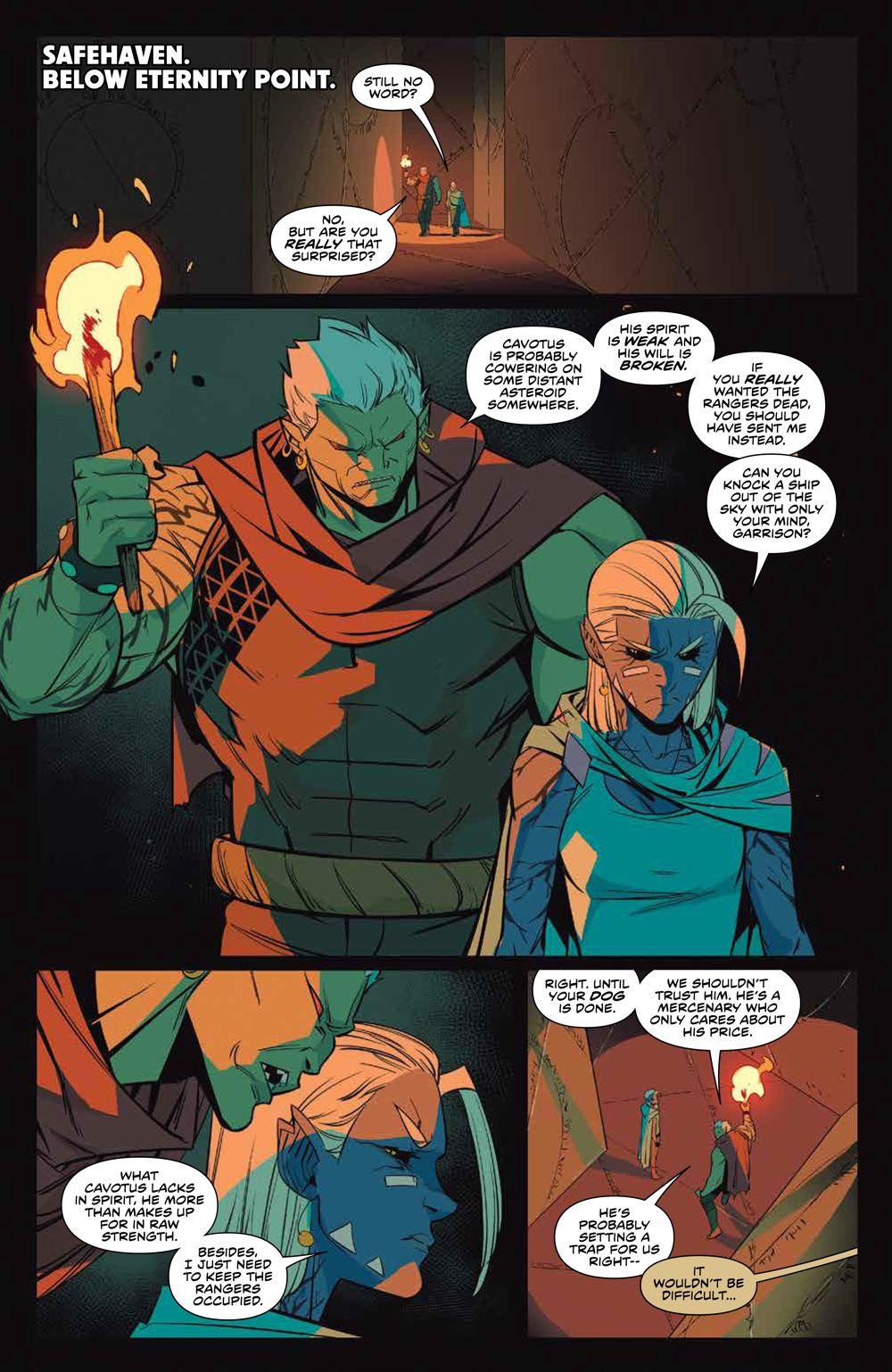 MMPR_v13_SC_PRESS_7 ComicList Previews: MIGHTY MORPHIN POWER RANGERS VOLUME 13 TP