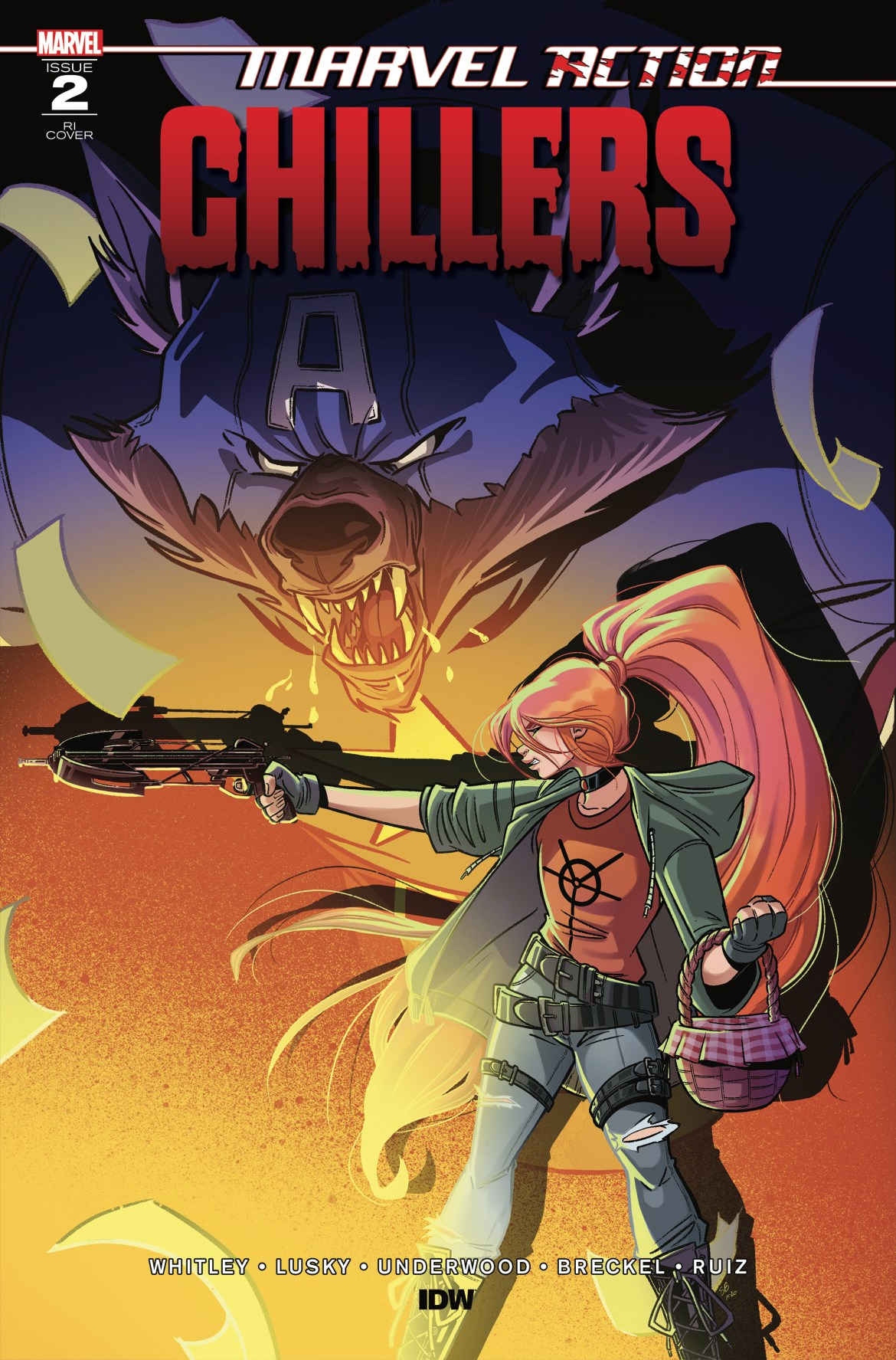 MarvelCHILLERS_02_CvrRI ComicList: IDW Publishing New Releases for 11/25/2020