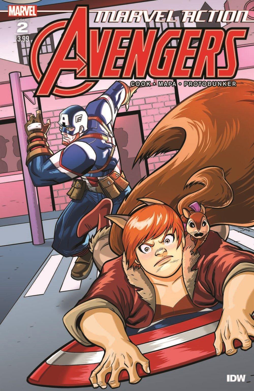 Marvel_Avengers_02_pr-1 ComicList Previews: MARVEL ACTION AVENGERS VOLUME 2 #2