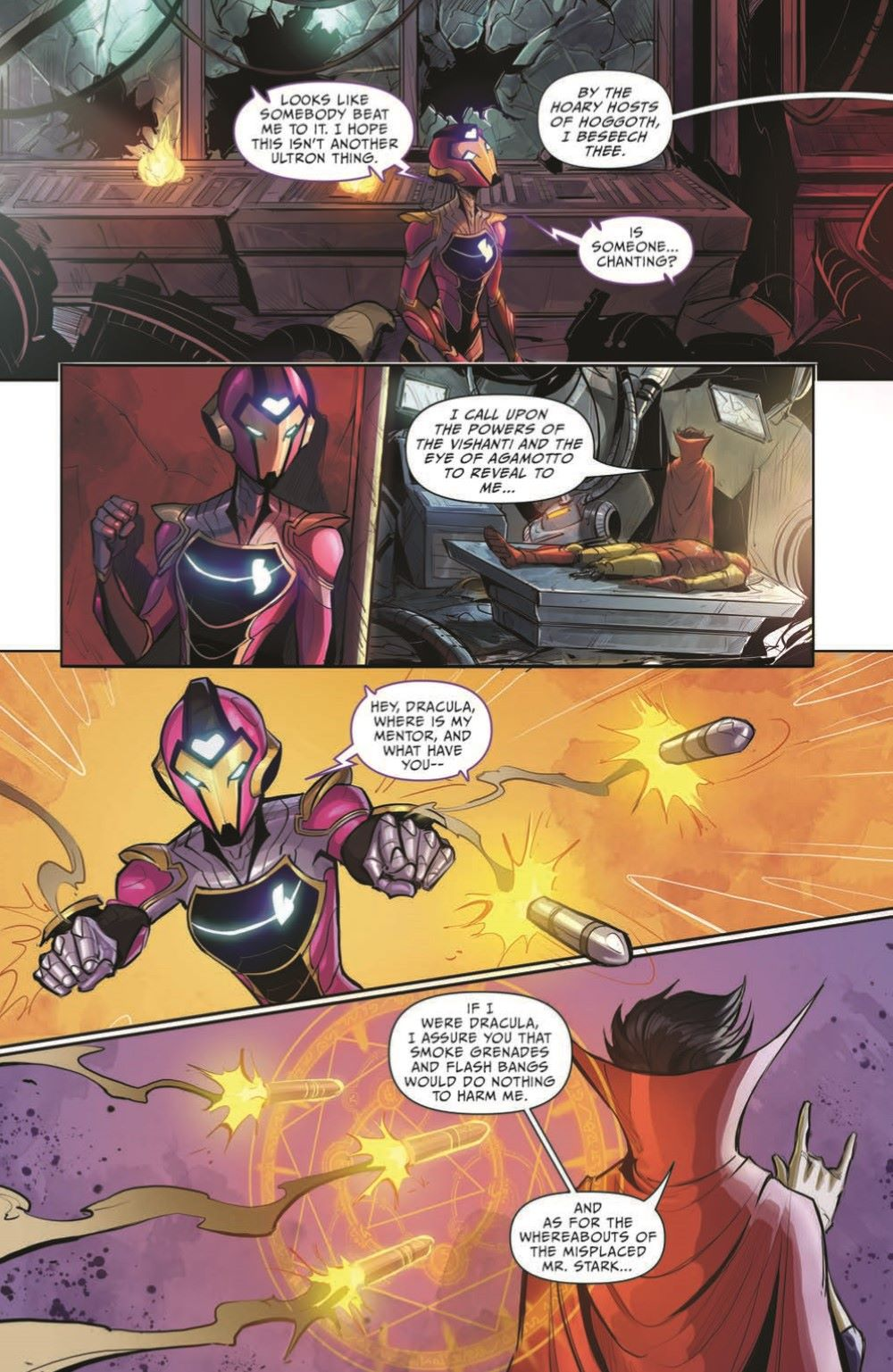 Marvel_Chillers_01_pr-4 ComicList Previews: MARVEL ACTION CHILLERS #1