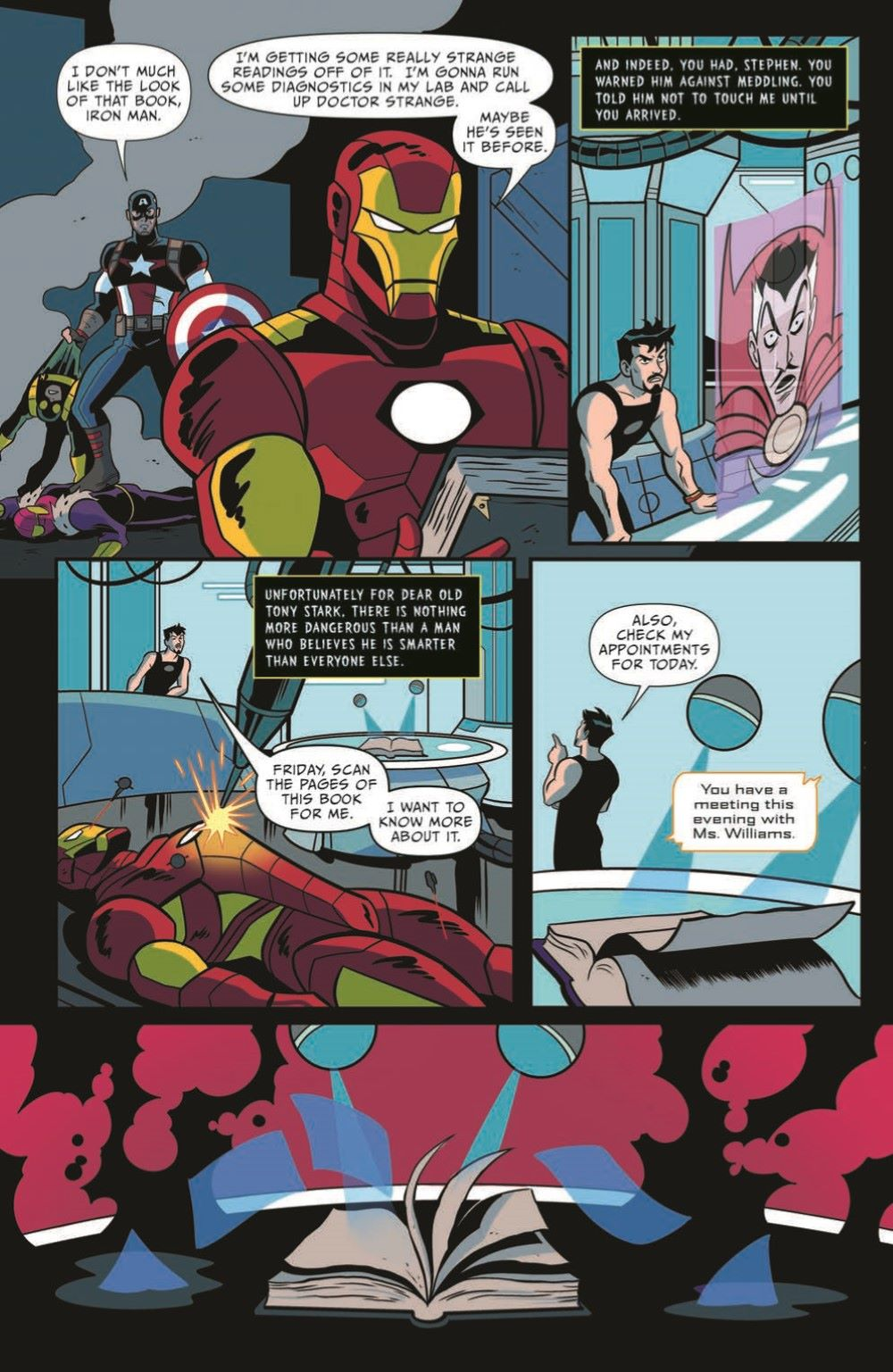 Marvel_Chillers_01_pr-7 ComicList Previews: MARVEL ACTION CHILLERS #1
