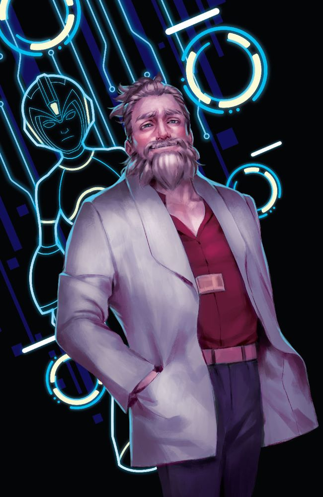 MegaMan_FullyCharged_004_Cover_B_LevelUp ComicList Previews: MEGA MAN FULLY CHARGED #4