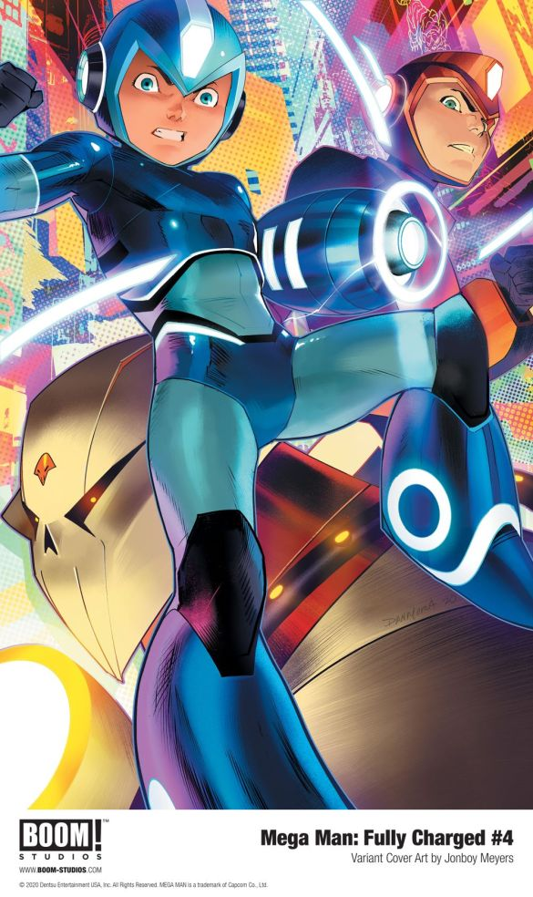 MegaMan_FullyCharged_004_Cover_Variant_Meyers_PROMO First Look at BOOM! Studios' MEGA MAN: FULLY CHARGED #4