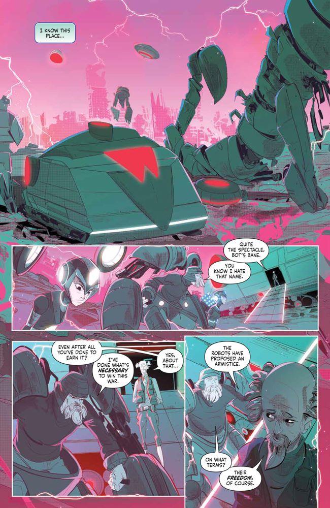MegaMan_FullyCharged_004_PRESS_3 ComicList Previews: MEGA MAN FULLY CHARGED #4