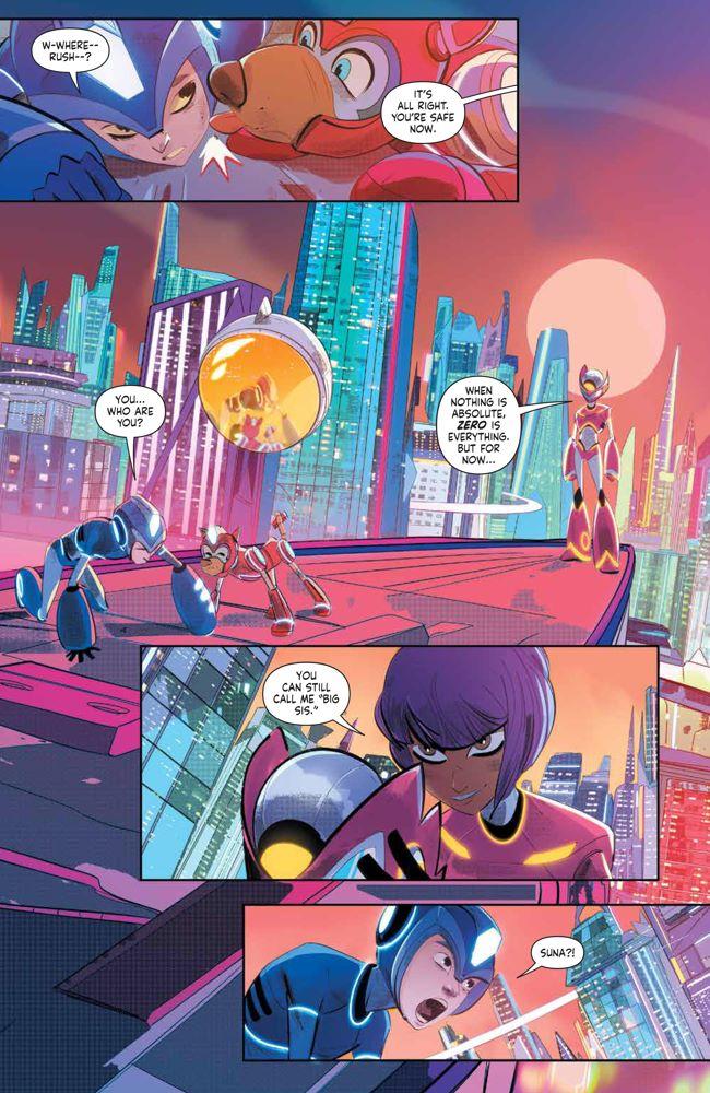 MegaMan_FullyCharged_004_PRESS_5 ComicList Previews: MEGA MAN FULLY CHARGED #4