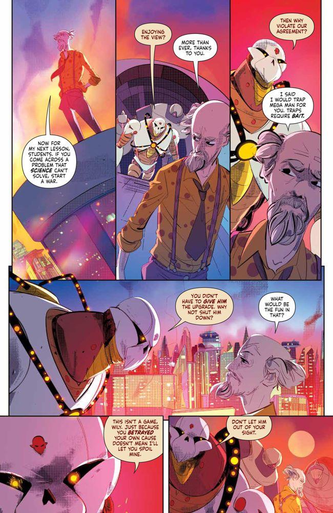 MegaMan_FullyCharged_004_PRESS_7 ComicList Previews: MEGA MAN FULLY CHARGED #4