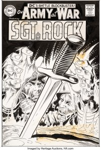 Our-Army-At-War-189-201x300 War, What's It Good For: Artists Joe Kubert and Dick Ayers