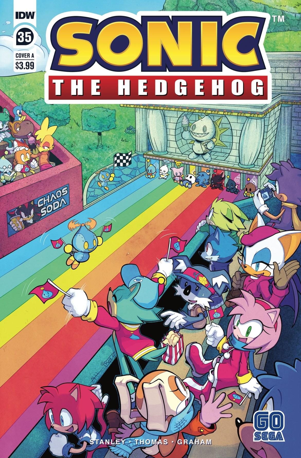 STH35_cvrA ComicList Previews: SONIC THE HEDGEHOG #35
