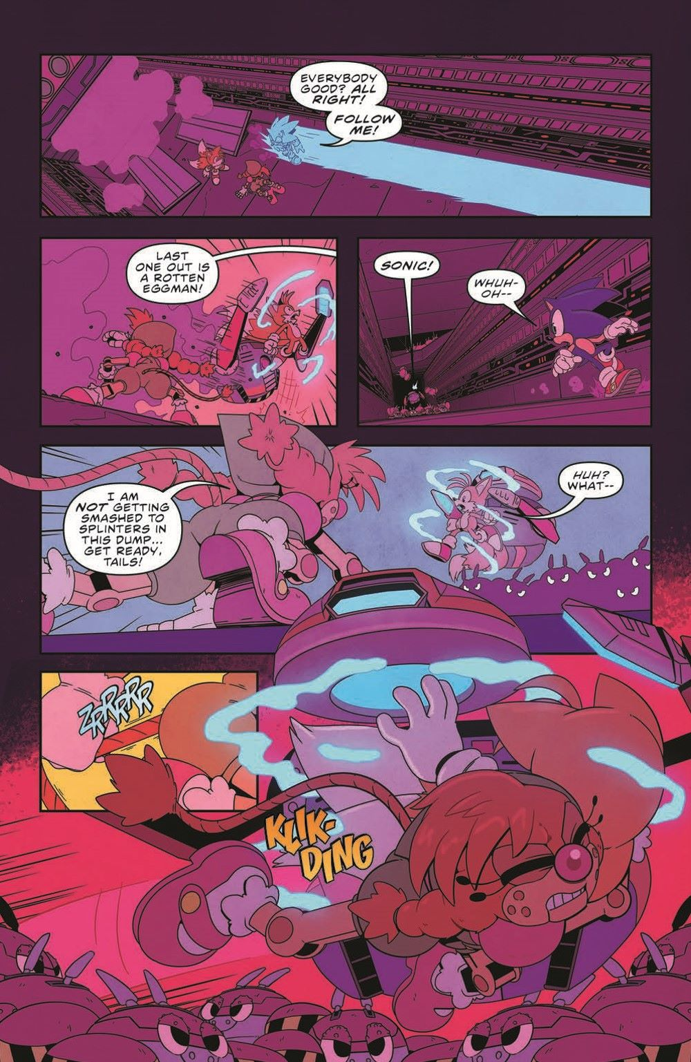 STH35_pr-5 ComicList Previews: SONIC THE HEDGEHOG #35