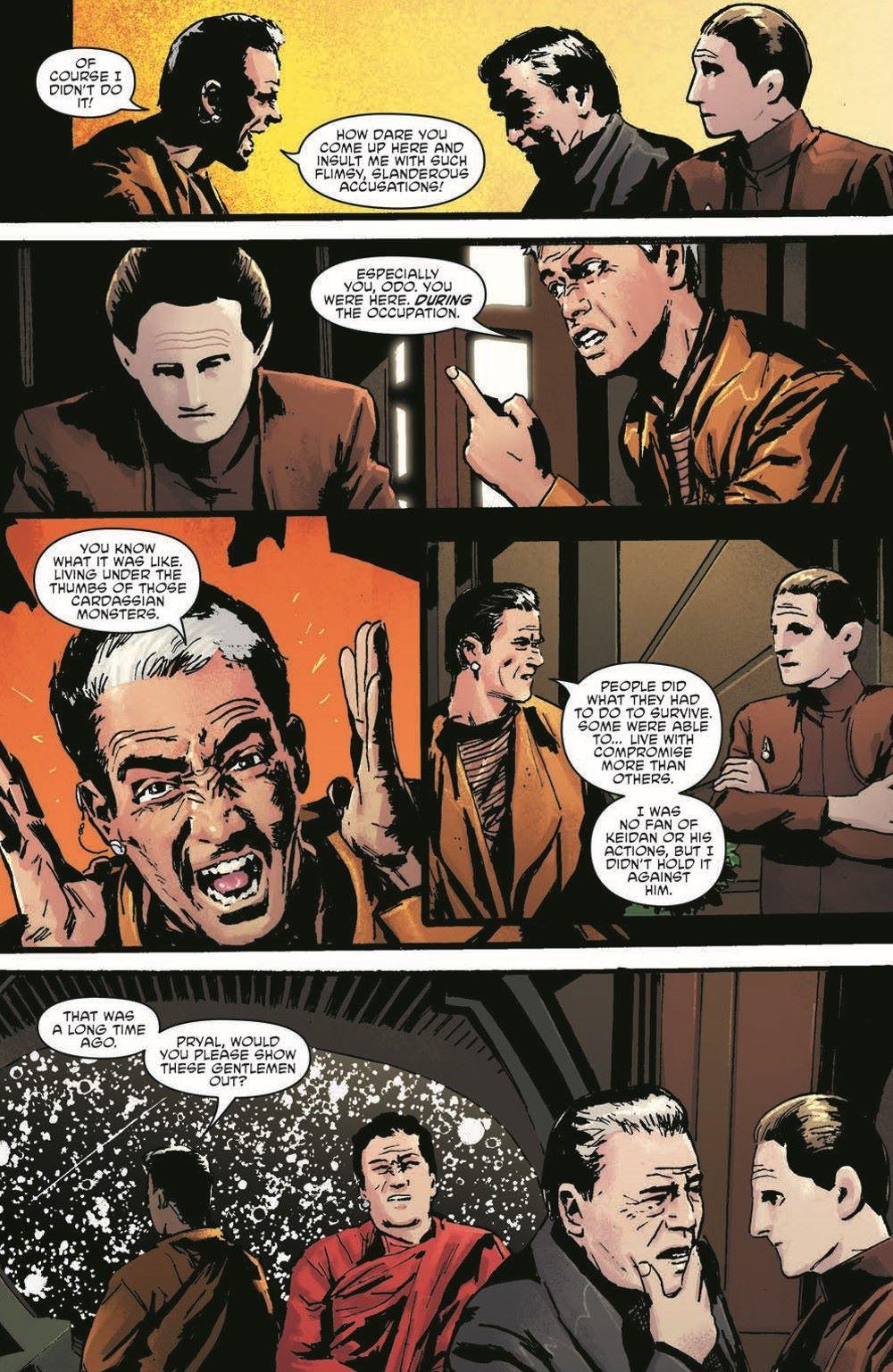 ST_DS9_04-pr-5 ComicList Previews: STAR TREK DEEP SPACE NINE TOO LONG A SACRIFICE #4 (OF 4)