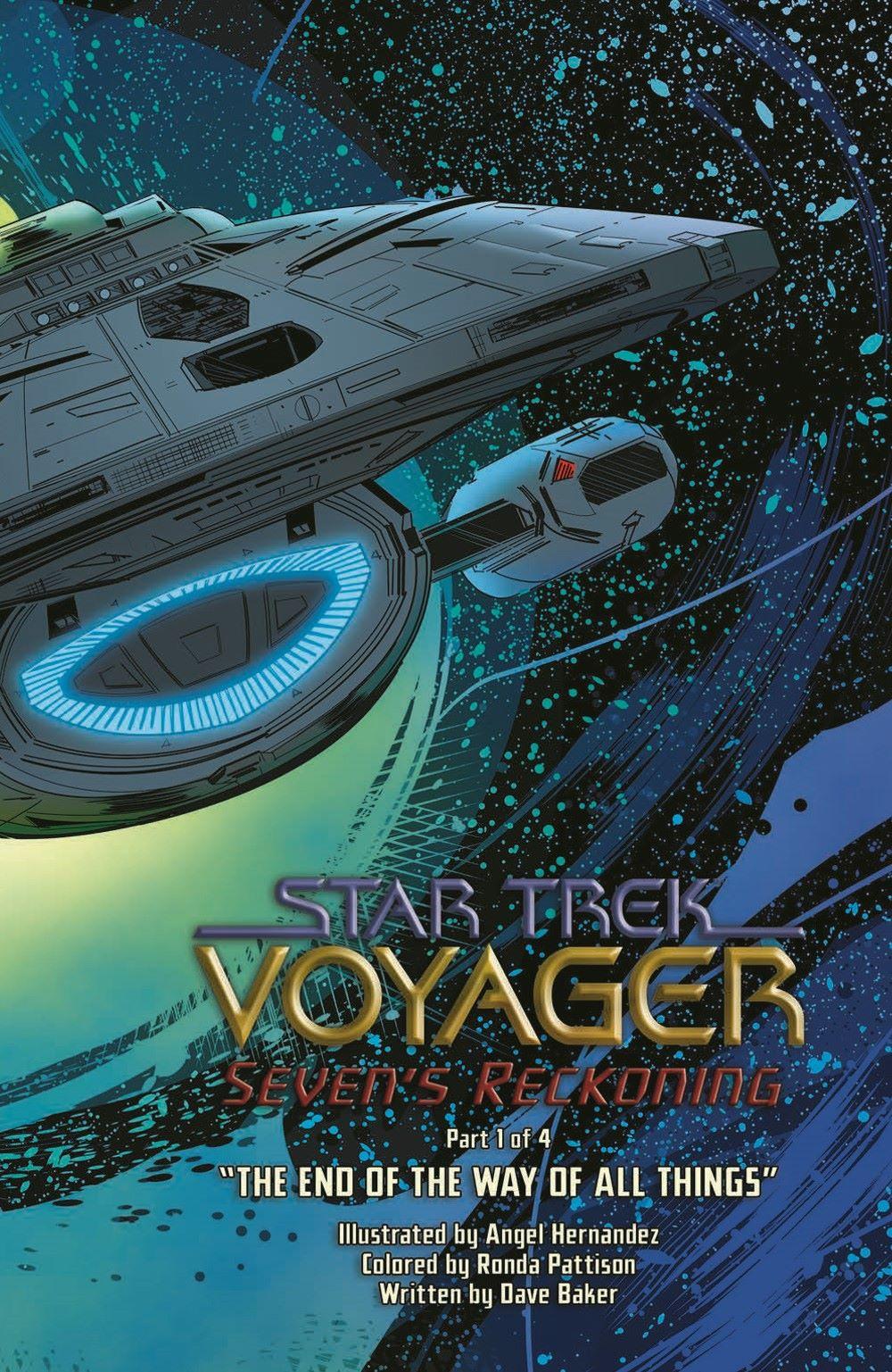 ST_Voyager_SR01-pr-5 ComicList Previews: STAR TREK VOYAGER SEVEN'S RECKONING #1 (OF 4)