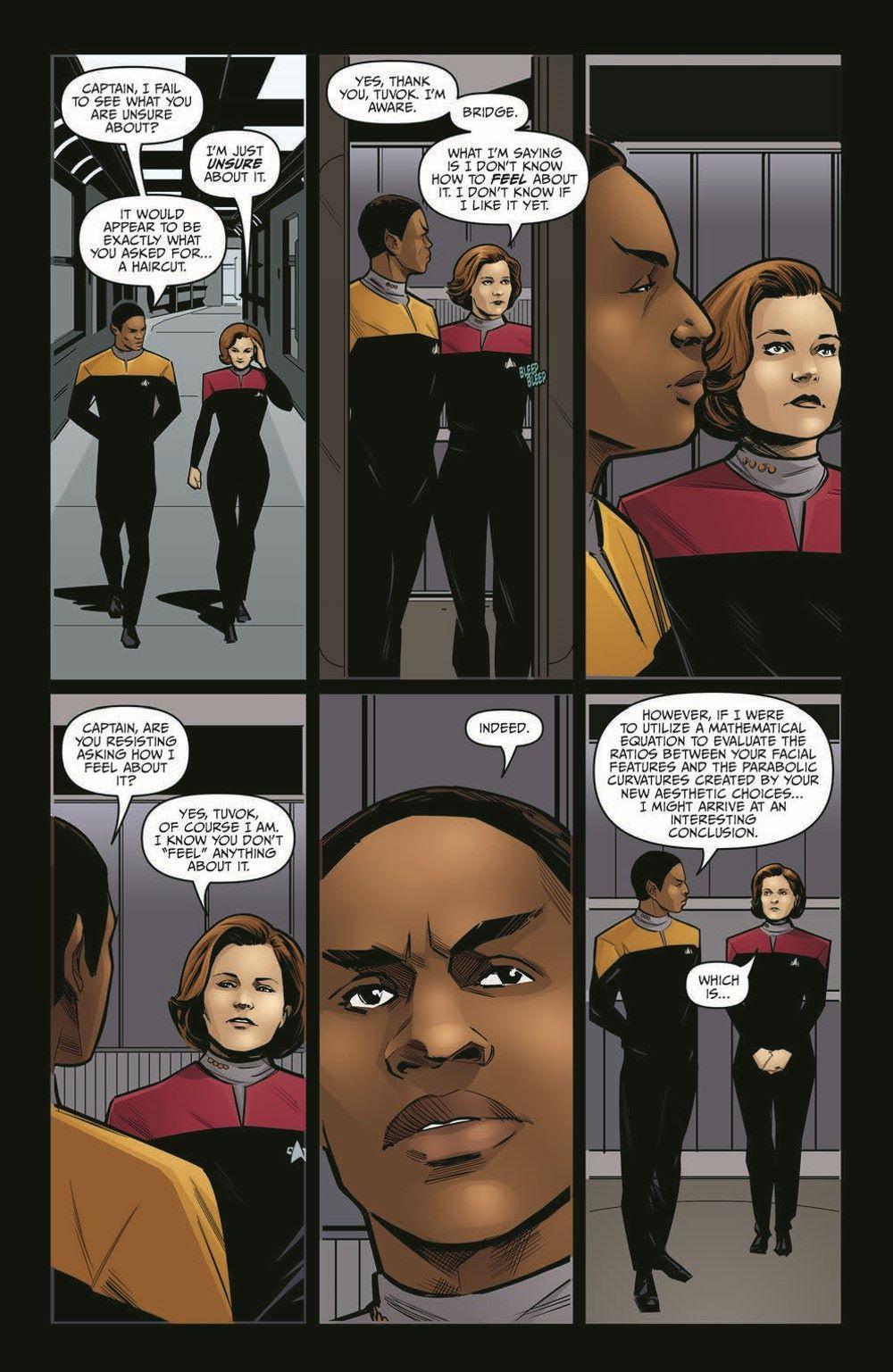 ST_Voyager_SR01-pr-6 ComicList Previews: STAR TREK VOYAGER SEVEN'S RECKONING #1 (OF 4)