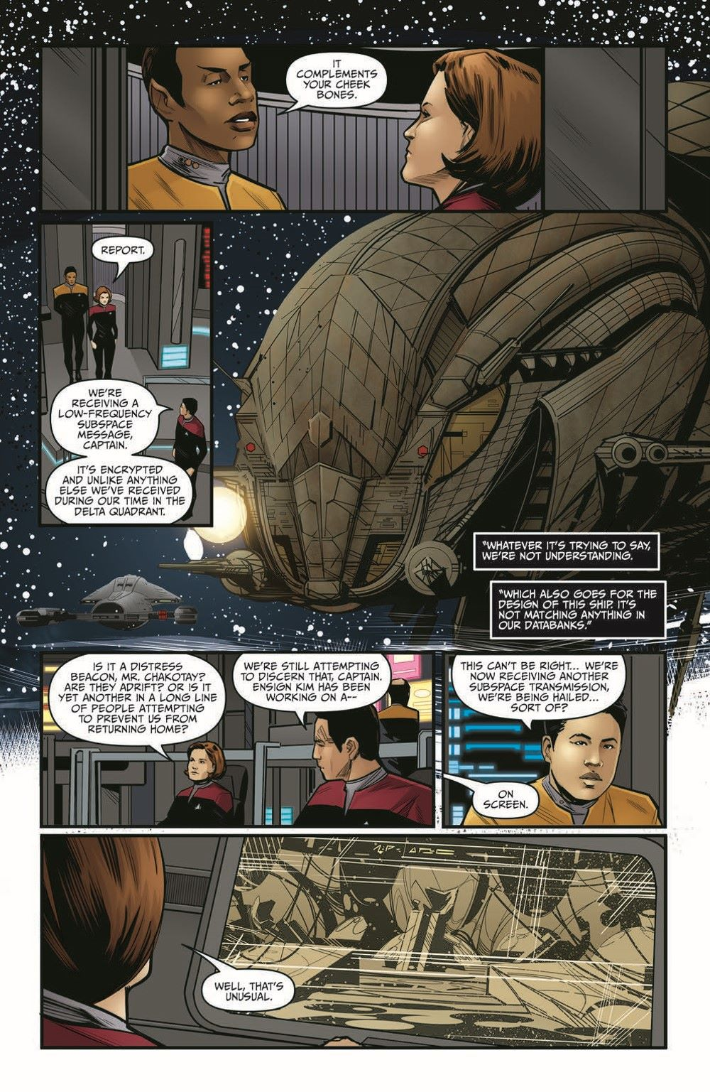 ST_Voyager_SR01-pr-7 ComicList Previews: STAR TREK VOYAGER SEVEN'S RECKONING #1 (OF 4)
