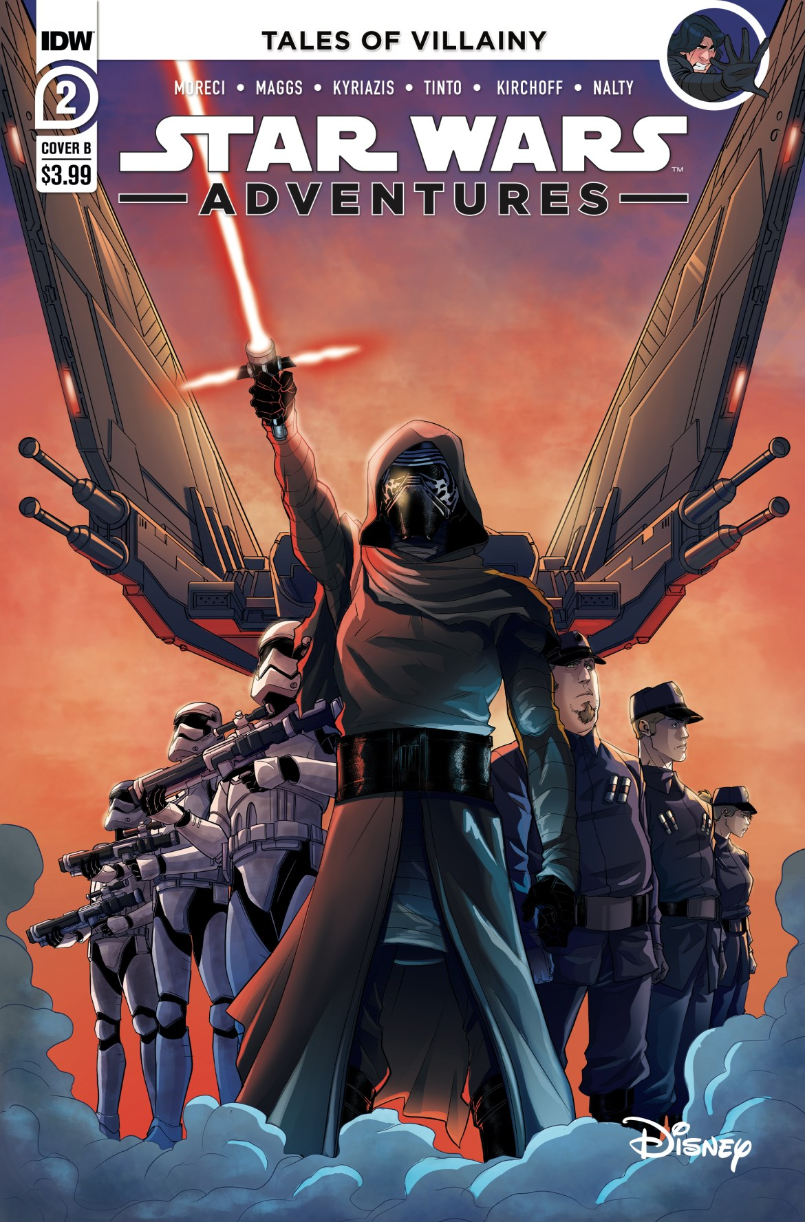 SWA_02_CoverB_Levens ComicList Previews: STAR WARS ADVENTURES VOLUME 2 #2