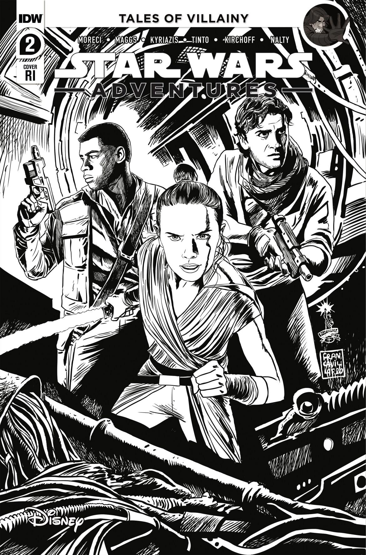 SWA_02_CoverRI_Francavilla ComicList Previews: STAR WARS ADVENTURES VOLUME 2 #2