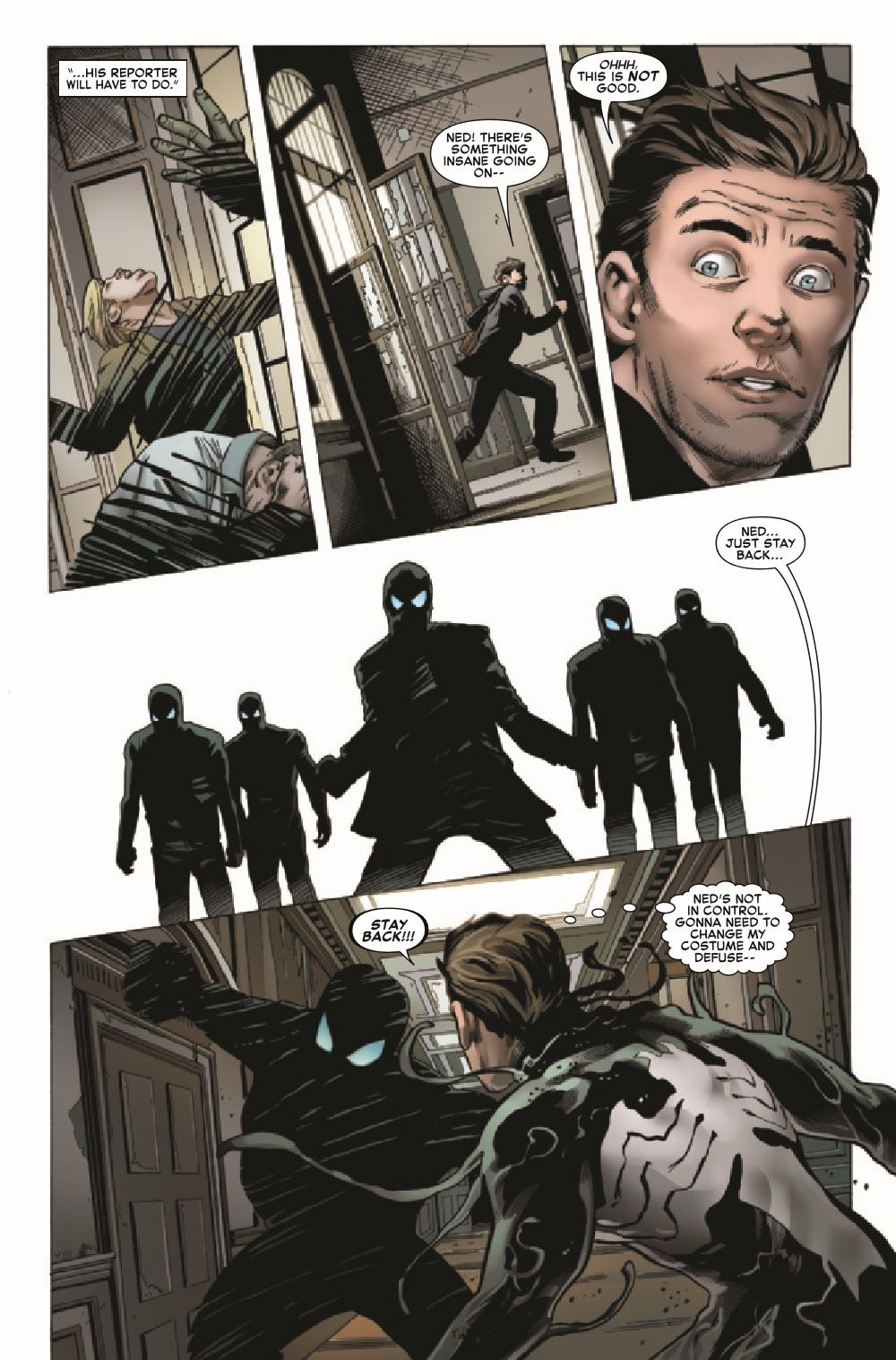 SYMBIOTESMKIB2020001_Preview-6 ComicList Previews: SYMBIOTE SPIDER-MAN KING IN BLACK #1 (OF 5)