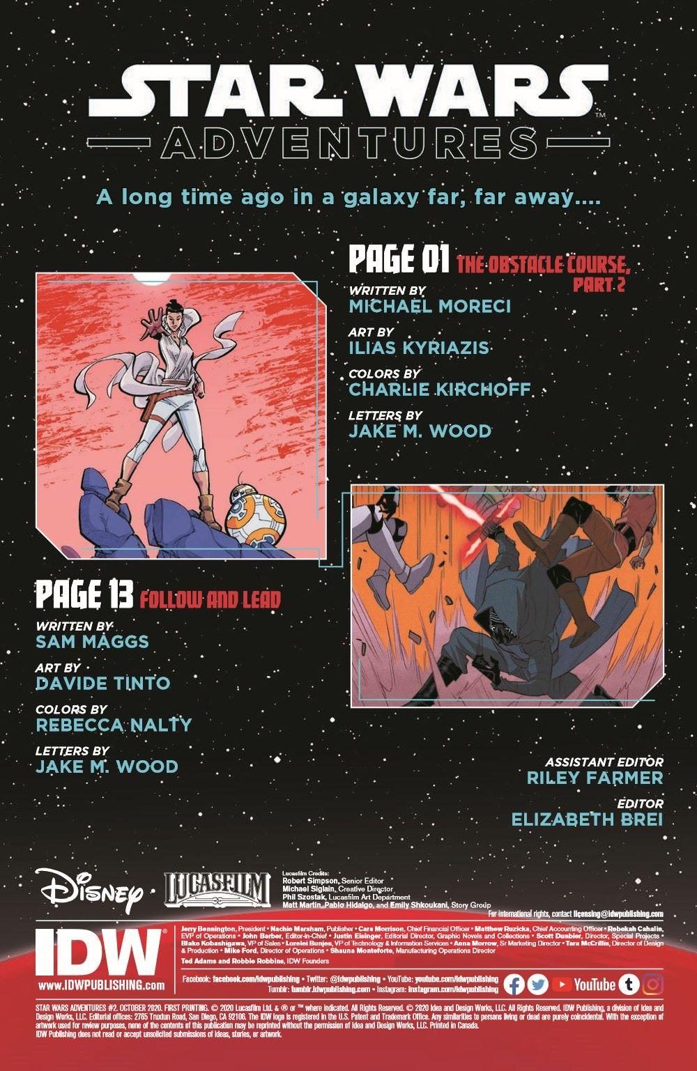 StarWarsAdv02-pr-2 ComicList Previews: STAR WARS ADVENTURES VOLUME 2 #2