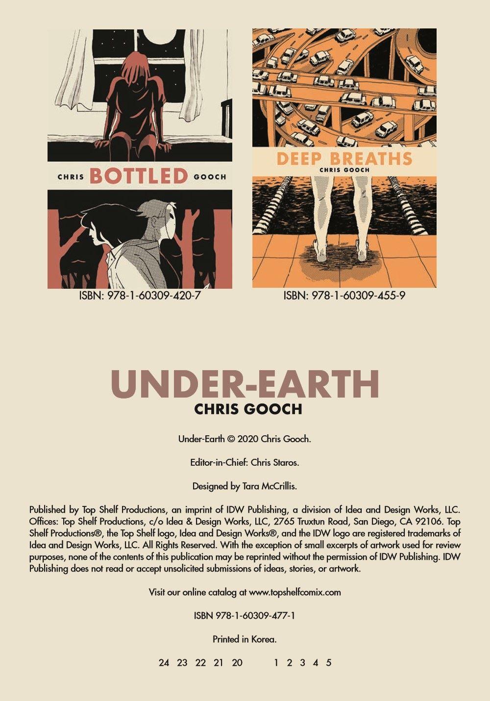 Under-Earth_pr-2 ComicList Previews: UNDER-EARTH TP