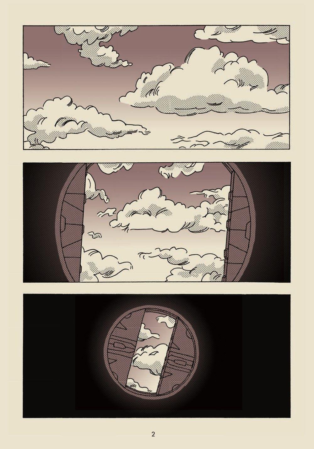 Under-Earth_pr-3 ComicList Previews: UNDER-EARTH TP