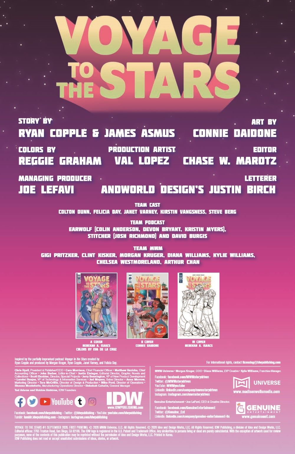 VoyageToTheStars_02-pr-2 ComicList Previews: VOYAGE TO THE STARS #3 (OF 4)