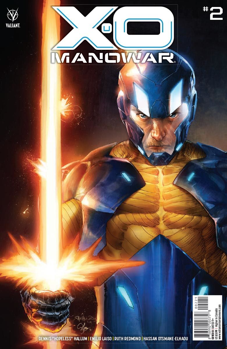 X-O_MANOWAR_02_COVER_B ComicList Previews: X-O MANOWAR #2