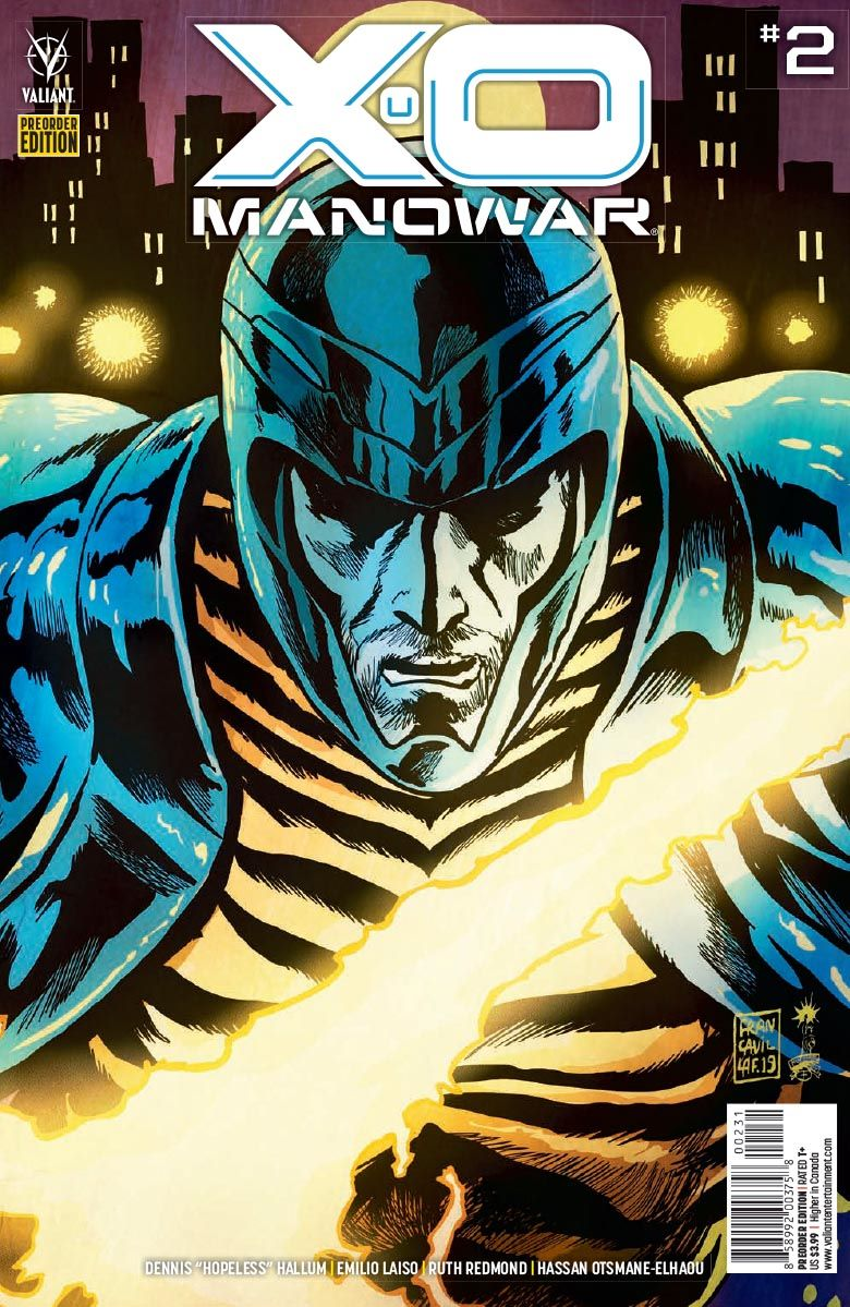 X-O_MANOWAR_02_PREORDER_COVER ComicList: Valiant Entertainment New Releases for 11/25/2020
