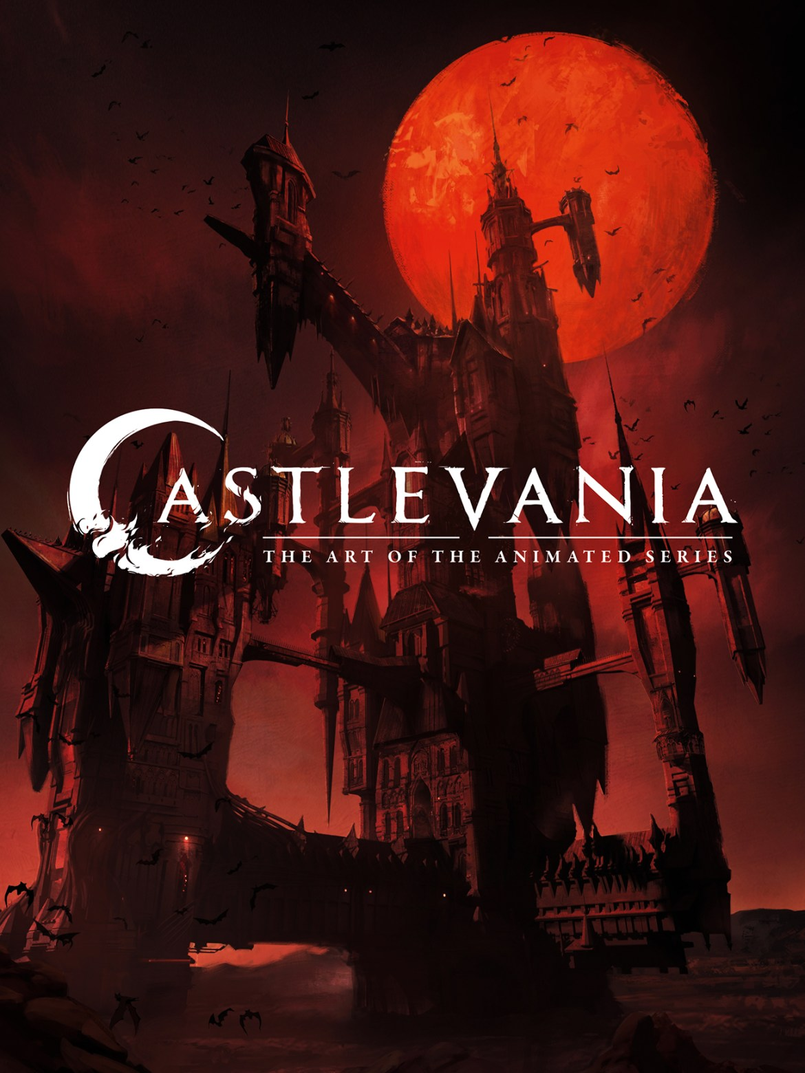 castlevaniacov CASTLEVANIA: THE ART OF THE ANIMATED SERIES to haunt book shelves