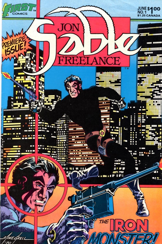 sable-cover-1 Mike Grell launches JON SABLE, FREELANCE Kickstarter