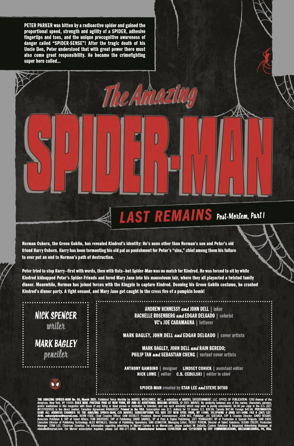 ASM2018056_Preview-2-1 ComicList Previews: THE AMAZING SPIDER-MAN #56
