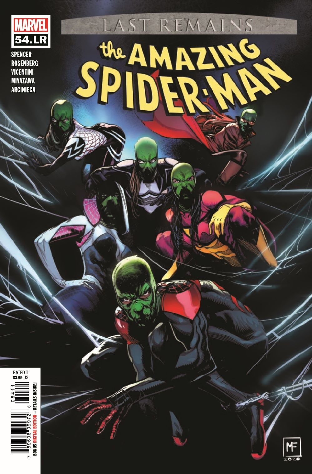 ASMLR2020054_Preview-1 ComicList Previews: THE AMAZING SPIDER-MAN #54.LR
