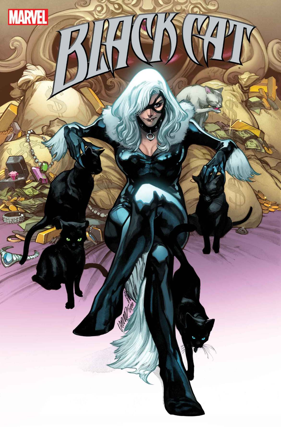BLACKCAT2020004_cov Marvel Comics March 2021 Solicitations