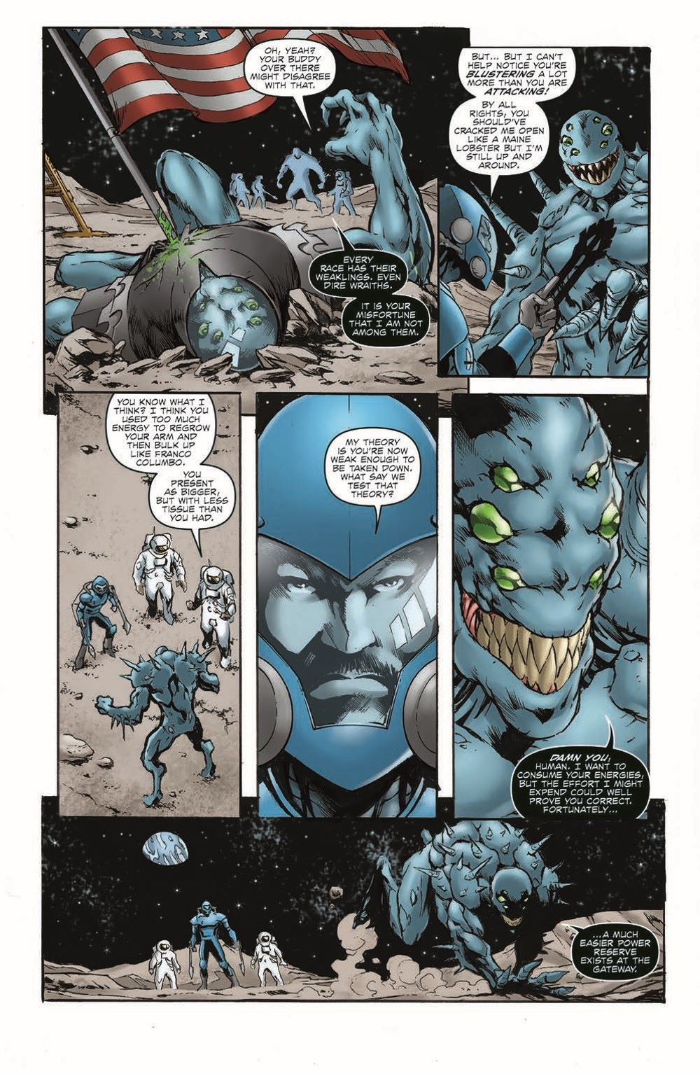 DireWraiths03_pr-5 ComicList Previews: ROM DIRE WRAITHS #3 (OF 3)