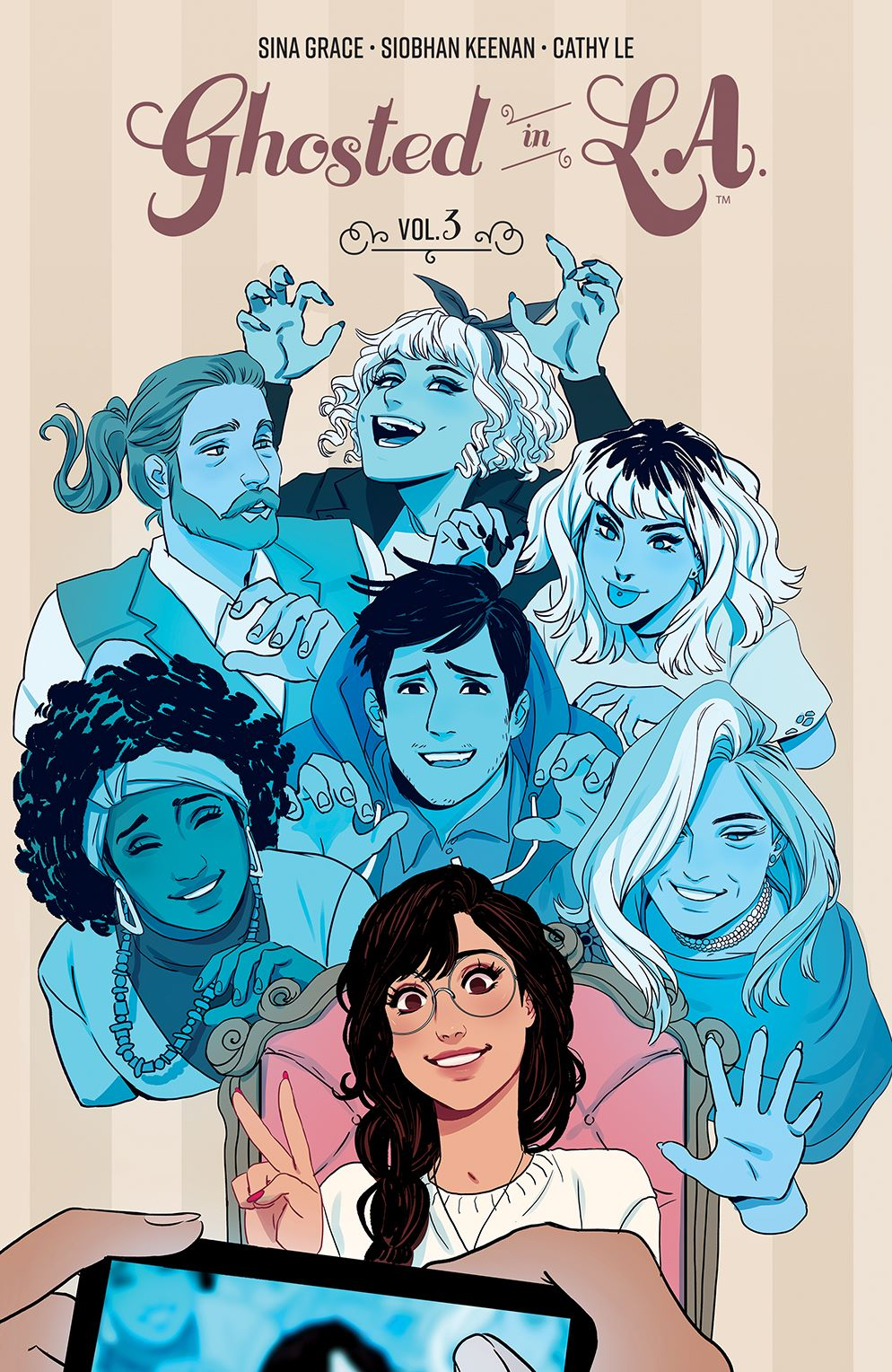 GhostedInLA_v3_SC_Cover ComicList Previews: GHOSTED IN L.A. VOLUME 3 TP