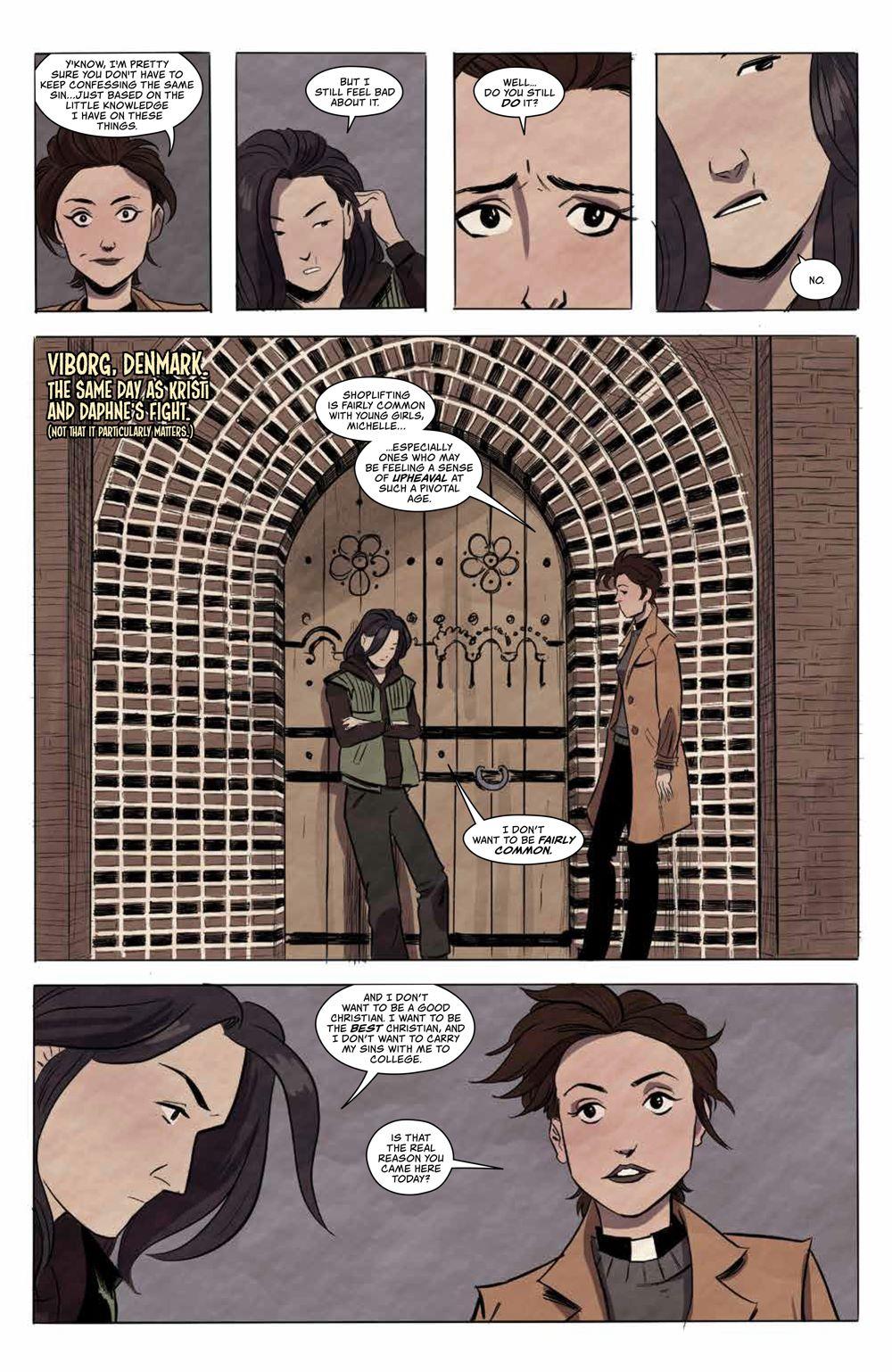 GhostedInLA_v3_SC_PRESS_9 ComicList Previews: GHOSTED IN L.A. VOLUME 3 TP