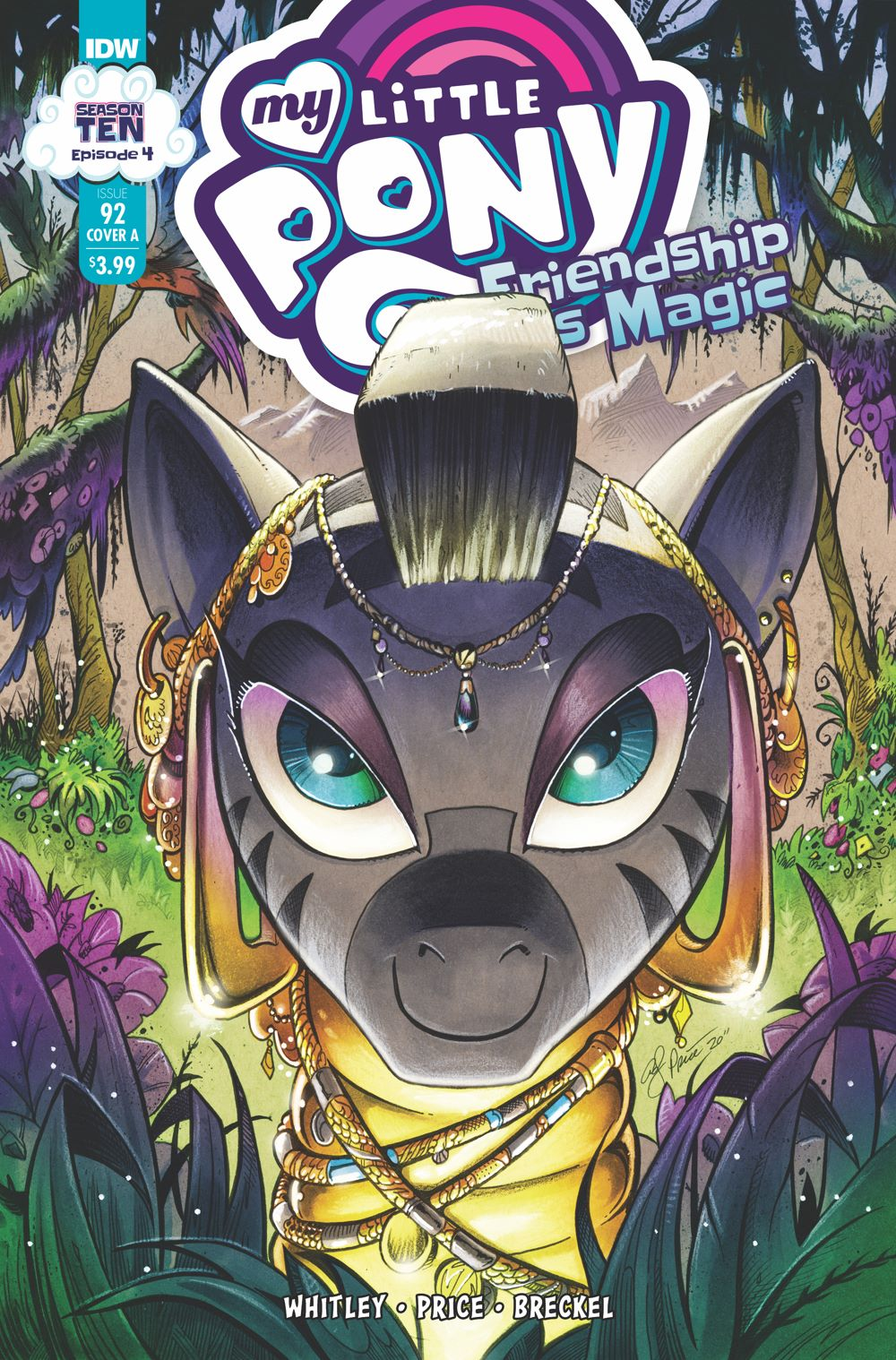 MLP92_04-coverA ComicList Previews: MY LITTLE PONY FRIENDSHIP IS MAGIC #92