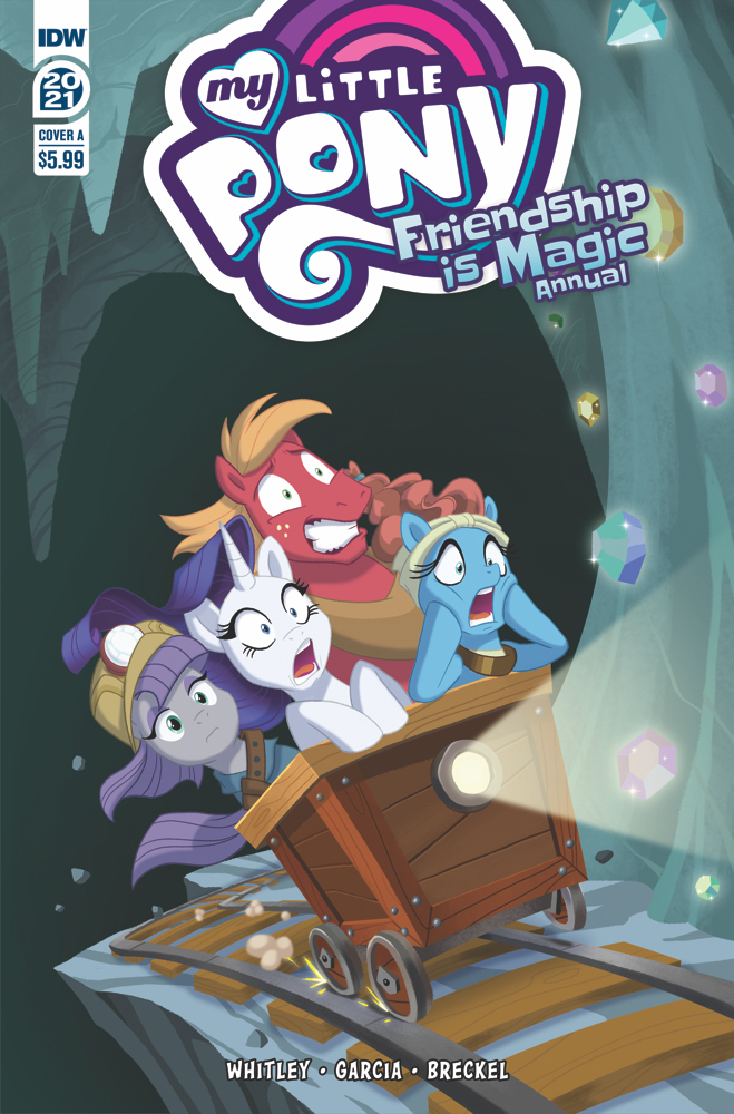 MLP_Annual2021-coverA IDW Publishing March 2021 Solicitations