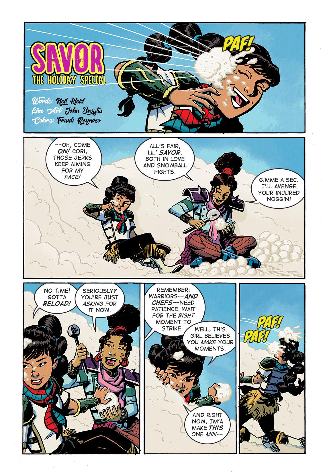 SavorHoliday_Digital_Comic_Color_PG01_Large First Look at Dark Horse Comics' SAVOR TP