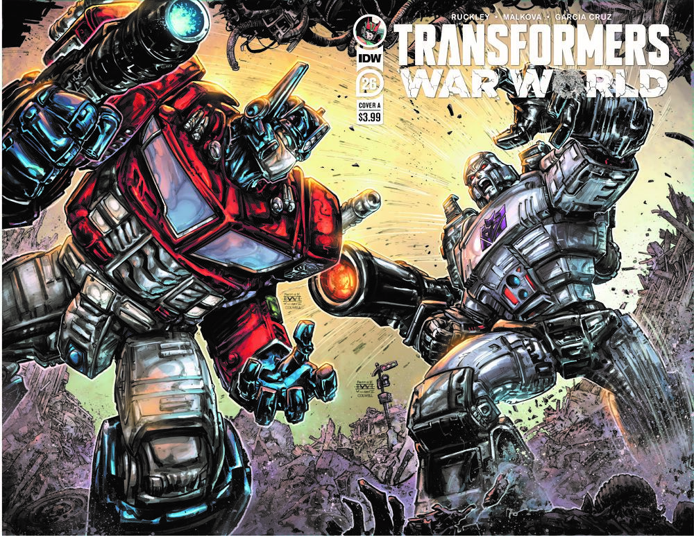 TF26-cvr-A ComicList: IDW Publishing New Releases for 01/06/2021