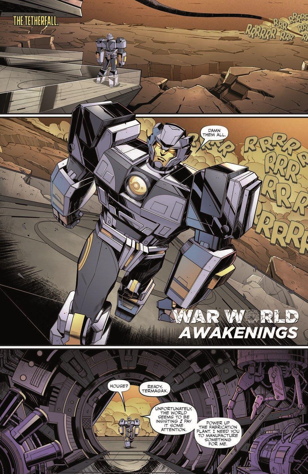 TF26-pr-3 ComicList Previews: TRANSFORMERS #26