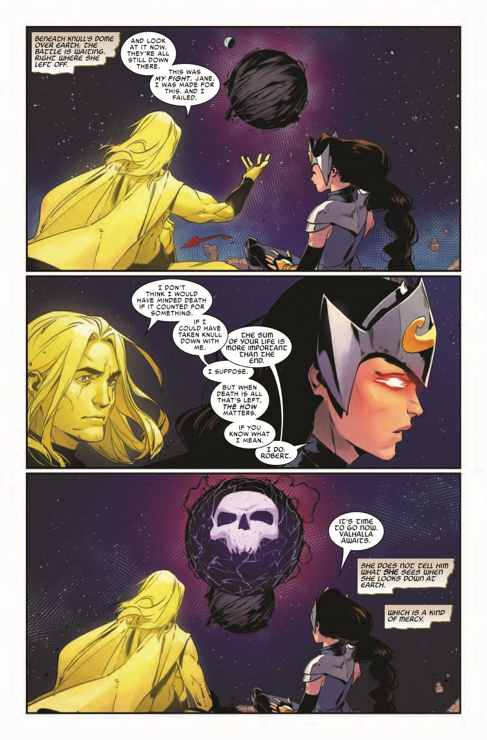 VALKYRIESRET2021001_Preview-6 ComicList Previews: KING IN BLACK RETURN OF THE VALKYRIES #1 (OF 4)