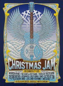 WARREN-1-221x300 All-Star Christmas Concert Posters Over the Years