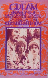 gg1-184x300 The Grande Ballroom Posters - The Psychedelic Era Outside of San Francisco