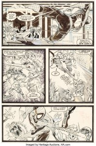 ASM-322-Page-2-with-Silver-Sable-198x300 McFarlane Spider-Man Surpasses Ditko: What Does It Mean?