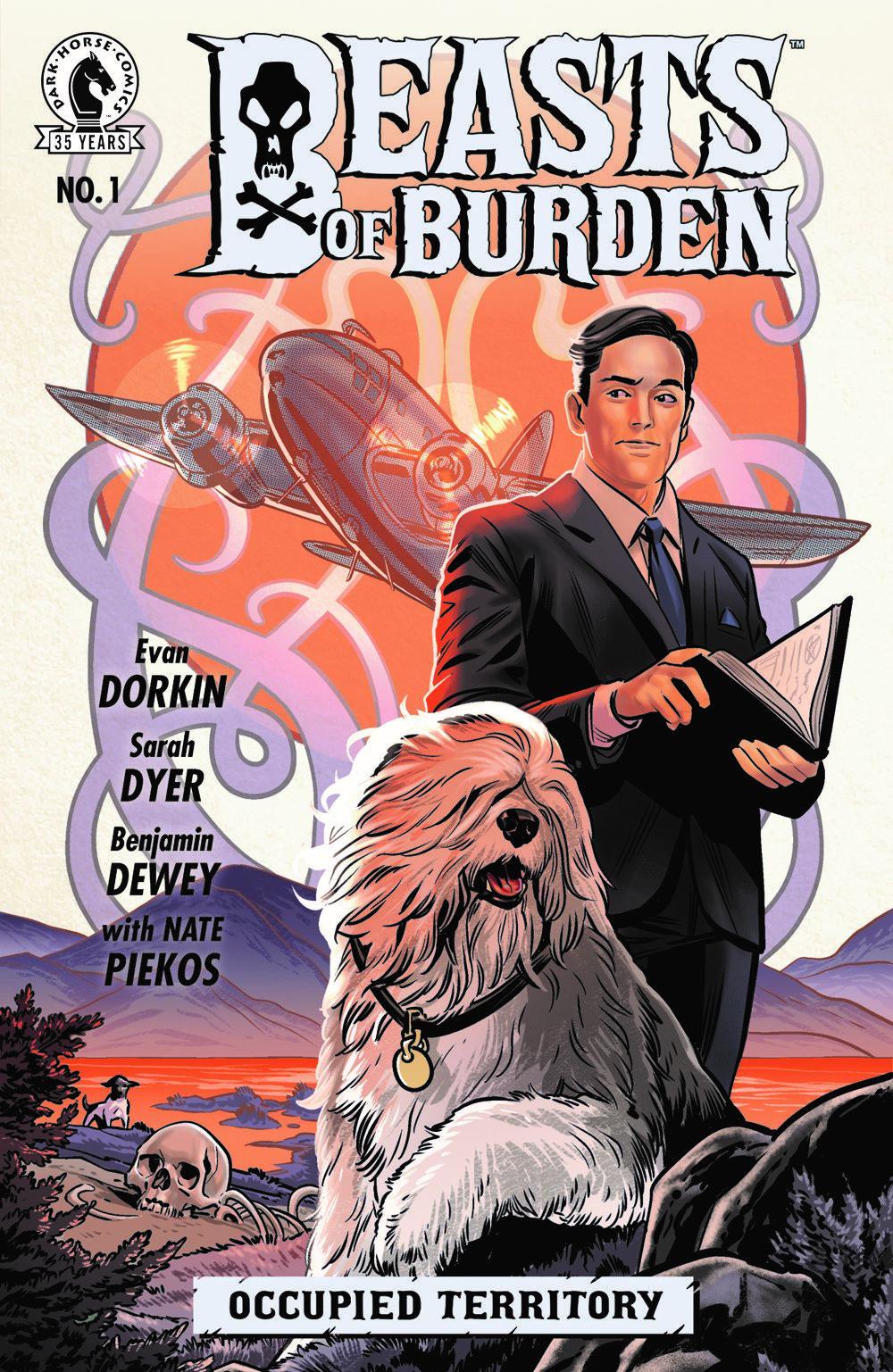 BOFBOT_i1_CVR_4x6 Dark Horse Comics April 2021 Solicitations