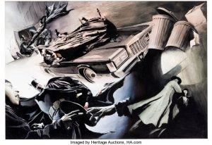 Batman-War-On-Crime-Pages-42-43-300x206 Alex Ross Painted Covers: Museum-Quality Fine Art