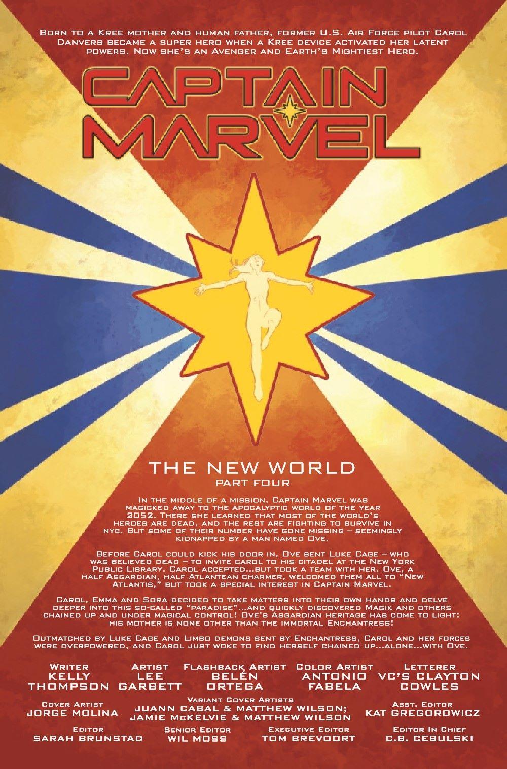 CAPMARV2019025_Preview-2 ComicList Previews: CAPTAIN MARVEL #25