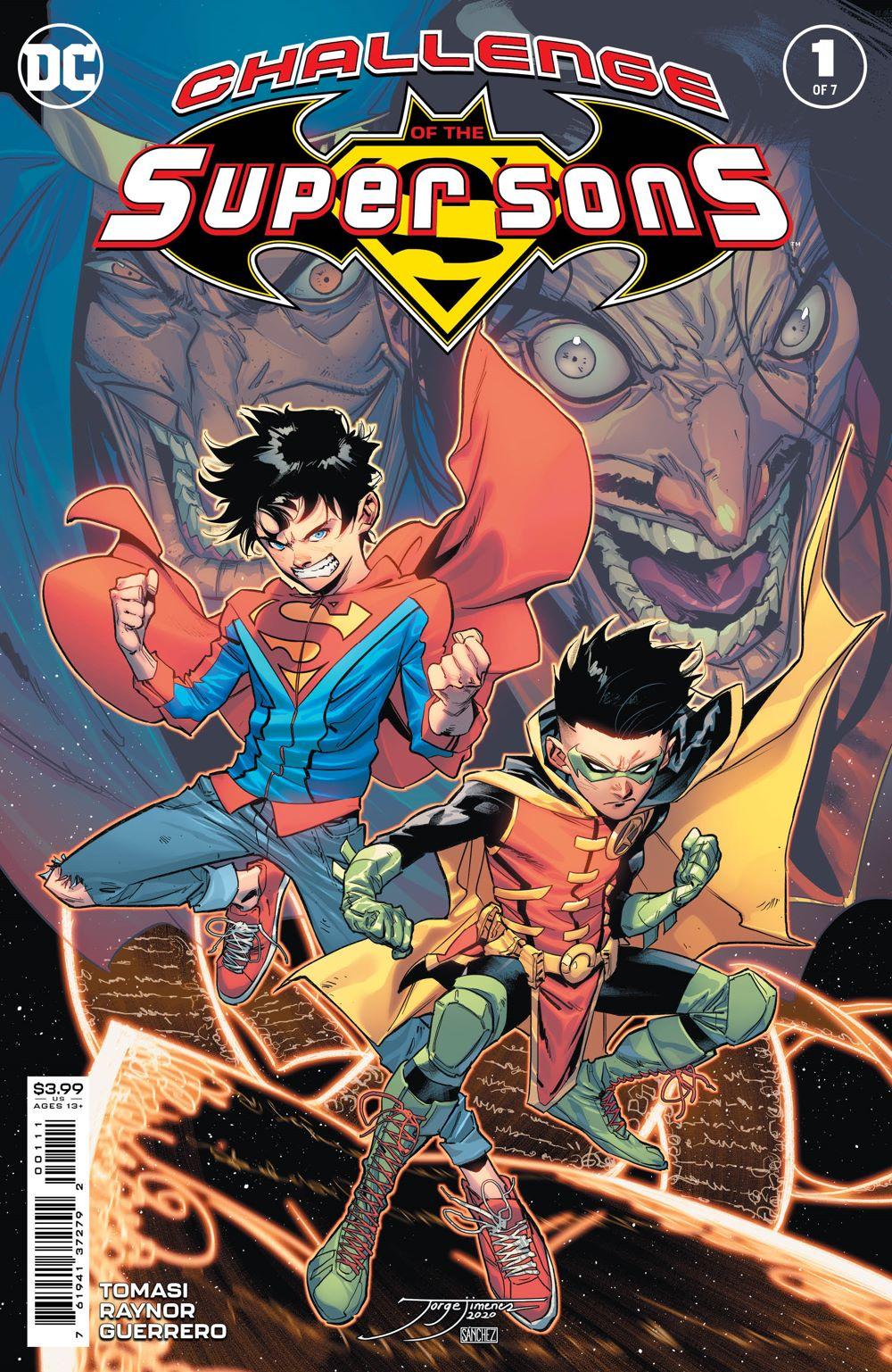 COTSuperSons_Cv1 DC Comics April 2021 Solicitations