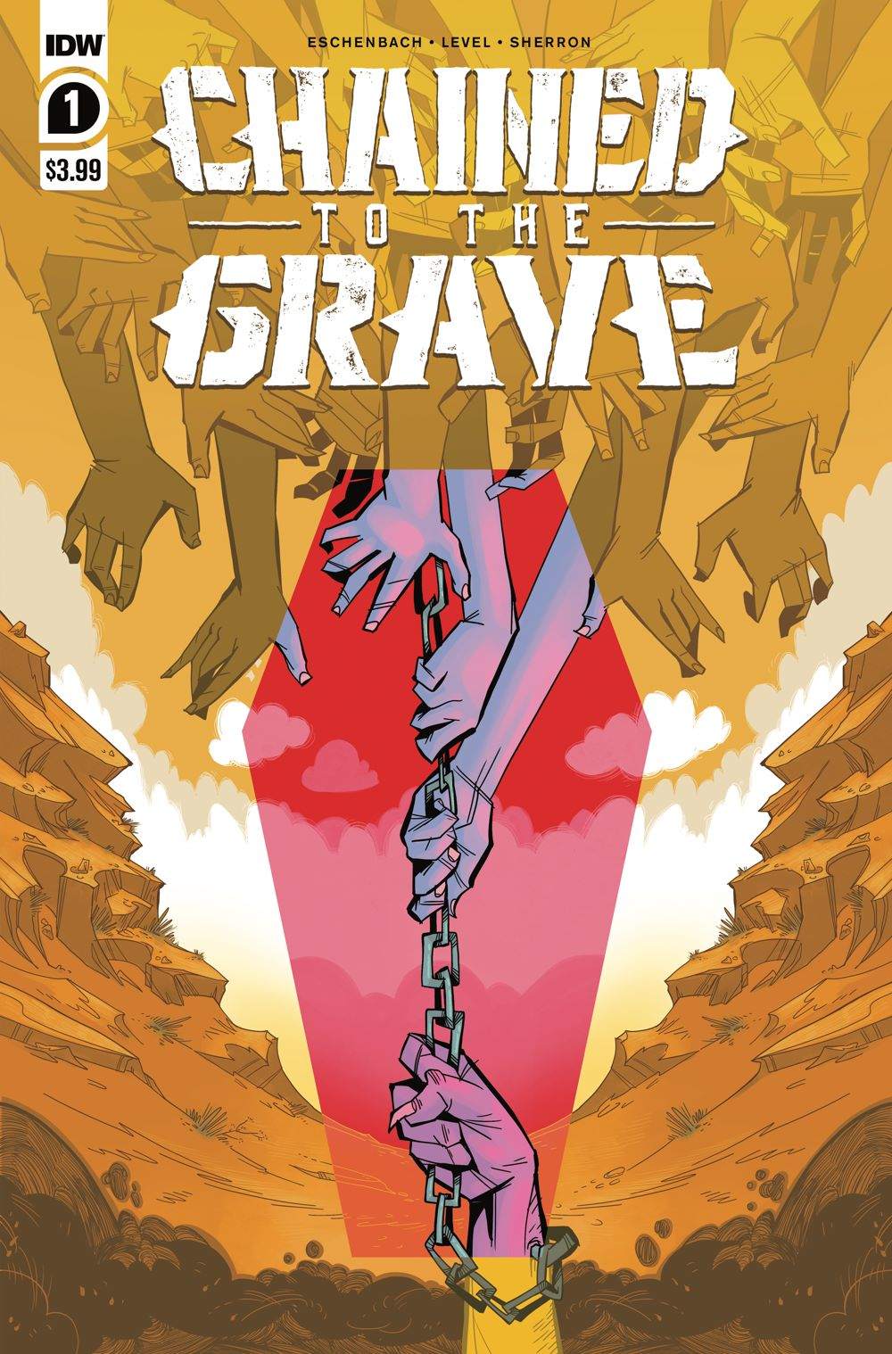ChainedTTGrave_01_cvrA ComicList: IDW Publishing New Releases for 02/03/2021