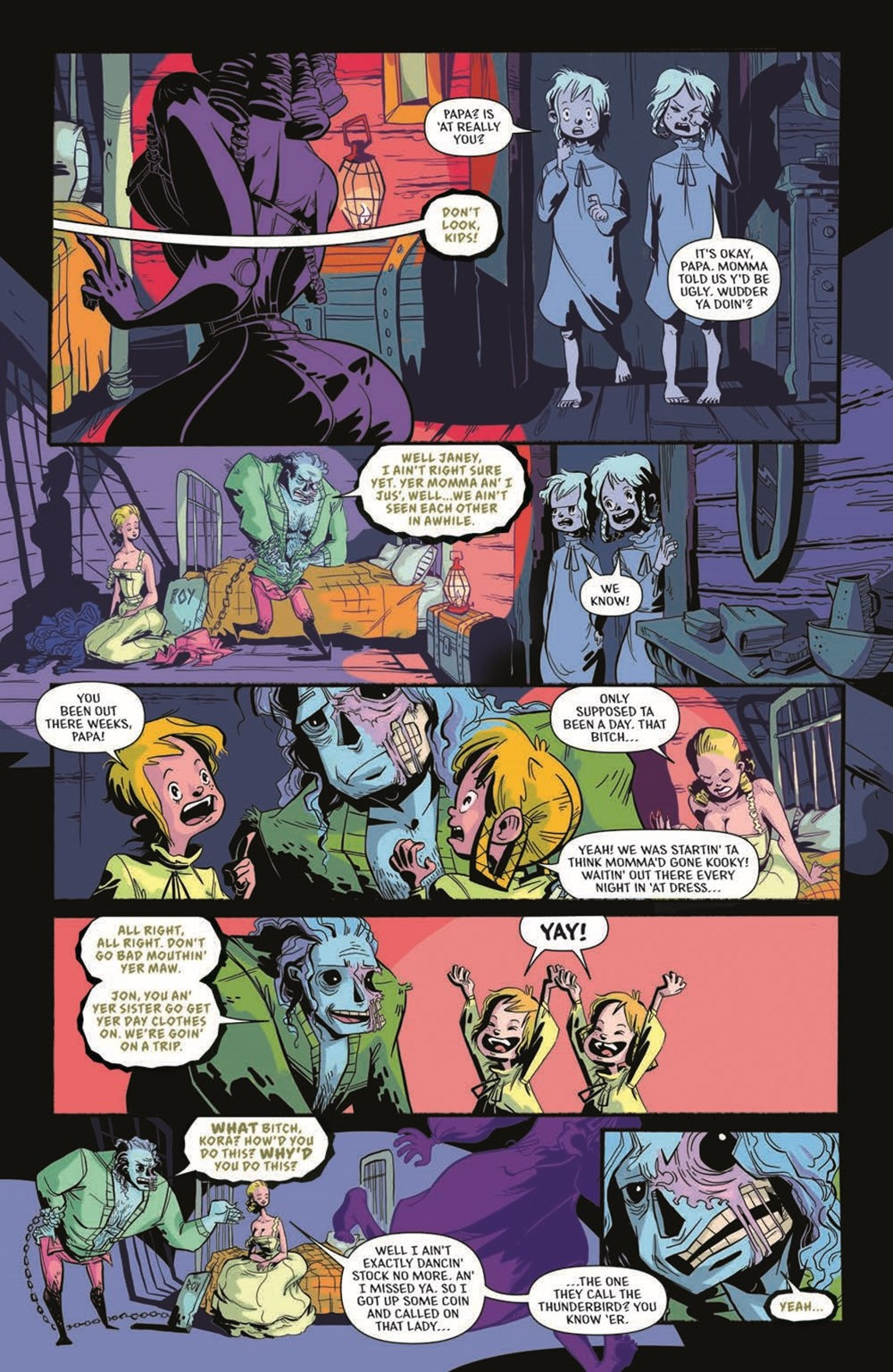 CttG01-pr-7 ComicList Previews: CHAINED TO THE GRAVE #1 (OF 5)