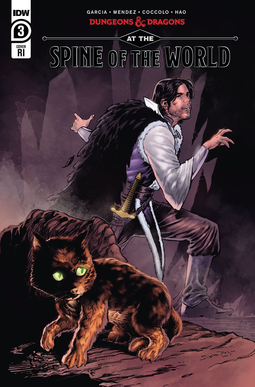 DD_ATSOTW03-coverRI ComicList Previews: DUNGEONS AND DRAGONS AT THE SPINE OF THE WORLD #3 (OF 4)